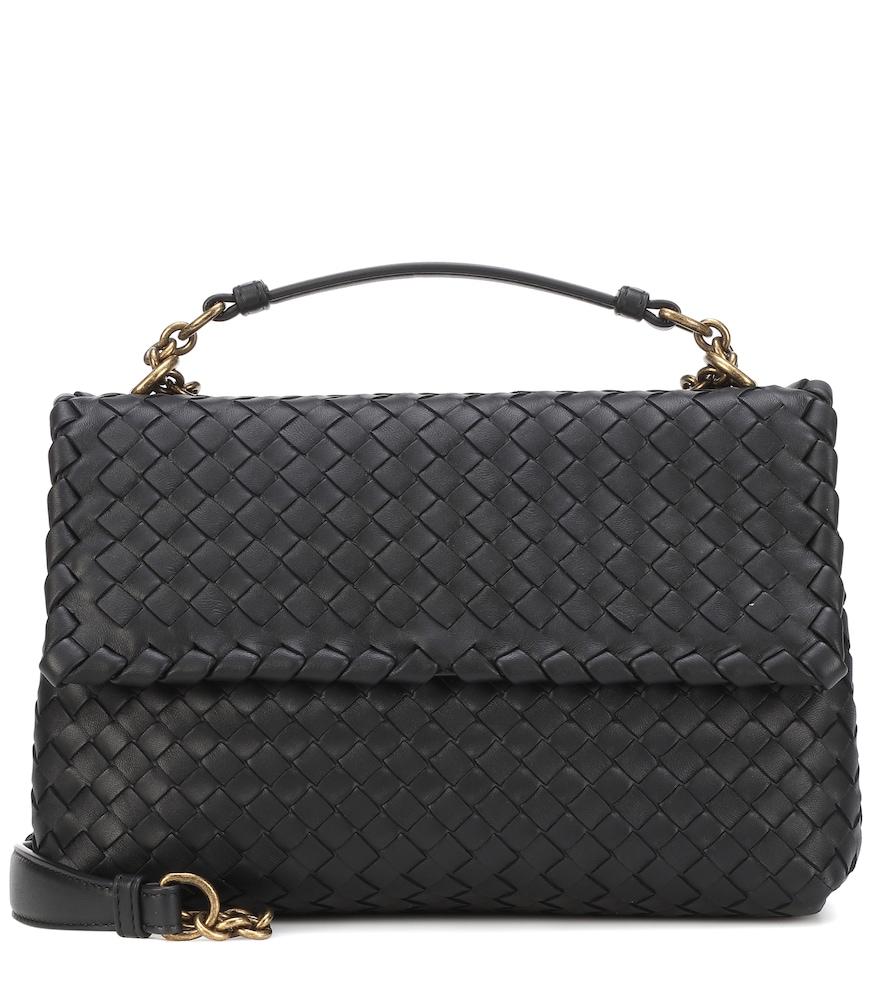 Small Olimpia intrecciato leather shoulder bag