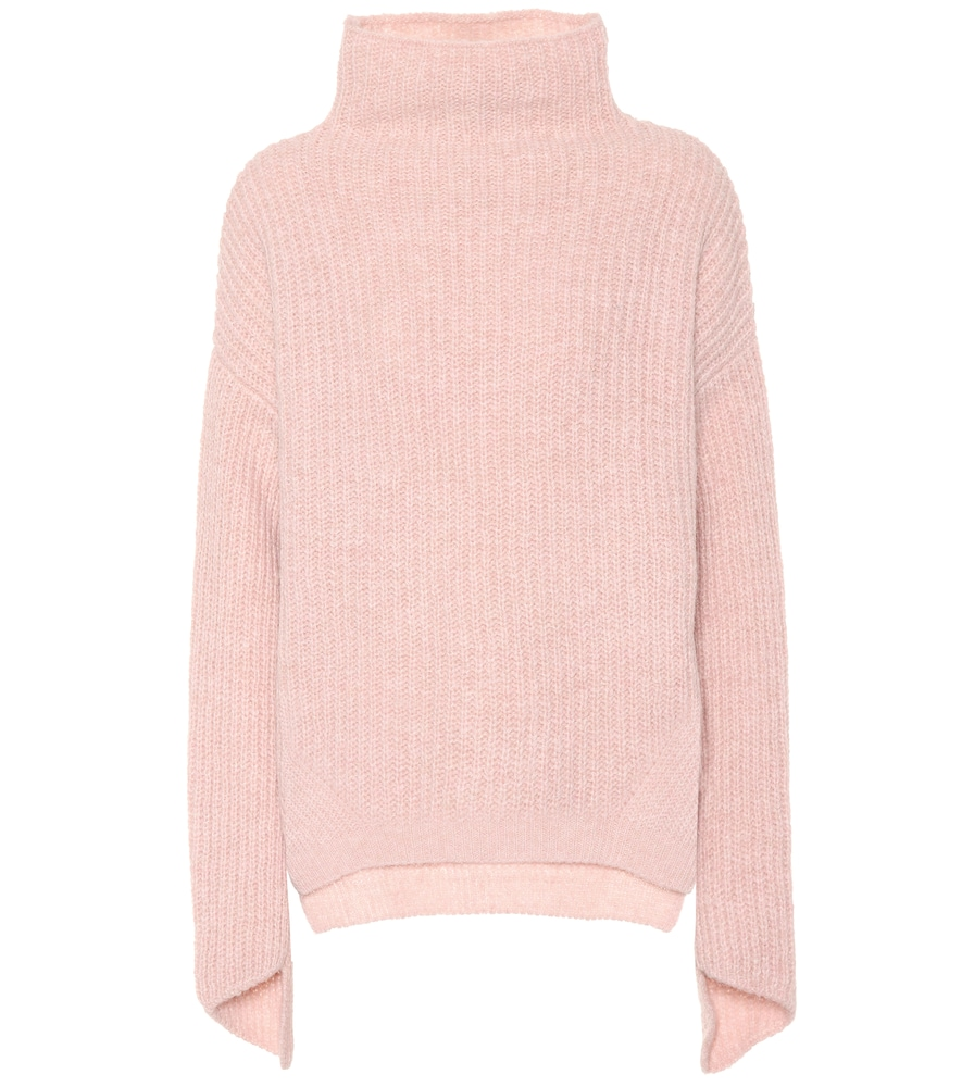 81 HOURS Bay Alpaca And Wool-Blend Sweater in Pink