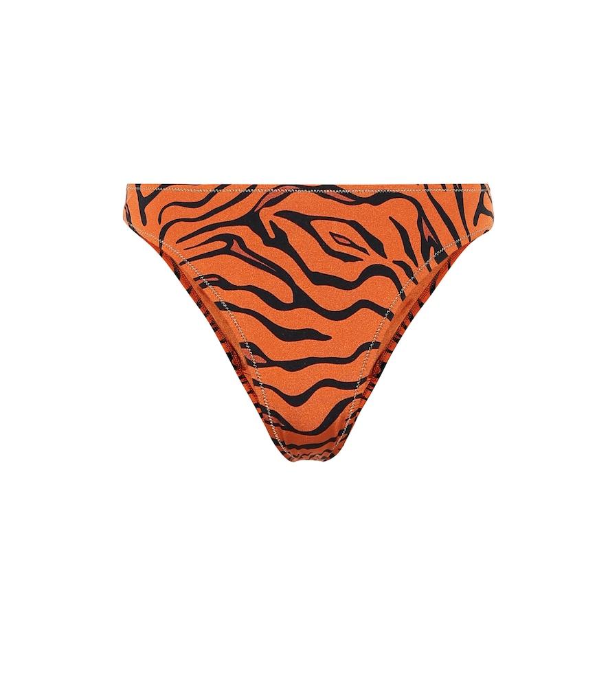 Culotte de bikini imprimée Selvaggia
