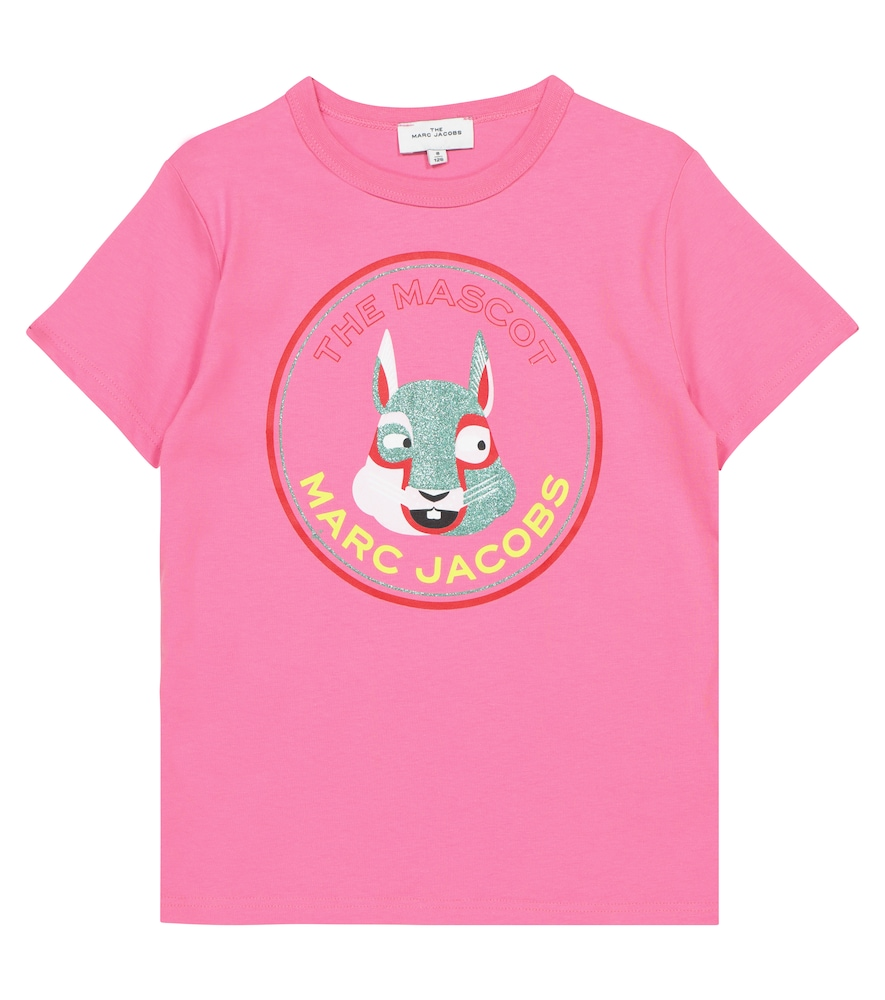 The Marc Jacobs THE MASCOT PRINTED COTTON T-SHIRT
