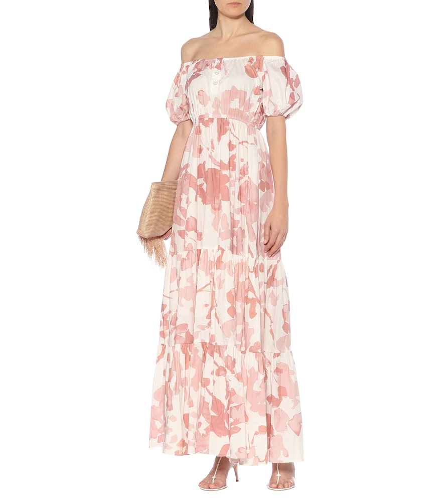 Bardot stretch-cotton maxi dress by Caroline Constas
