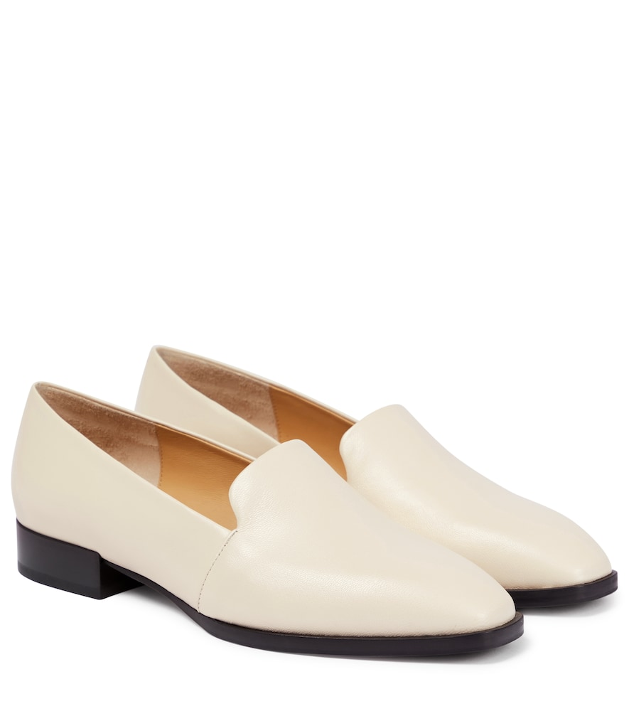 Aeyde AMBER LEATHER LOAFERS