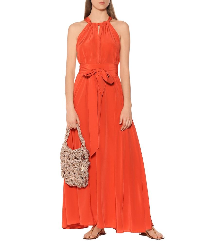 Camille silk maxi dress by Kalita