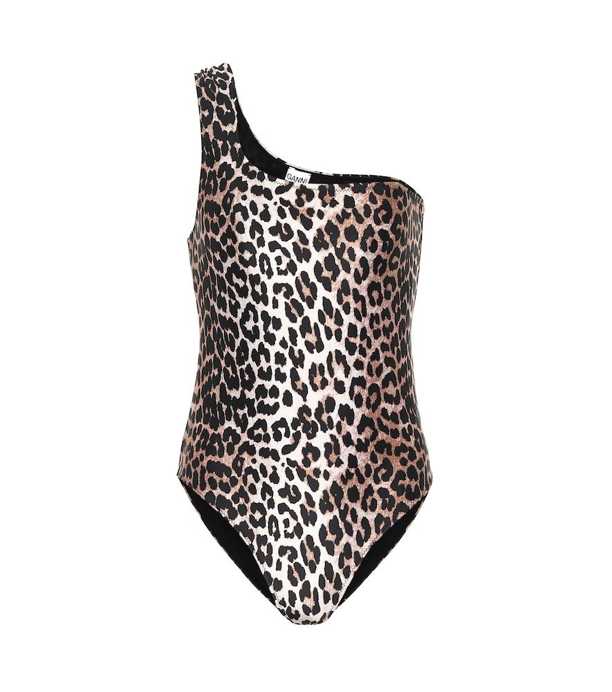 Maillot de bain à motif léopard