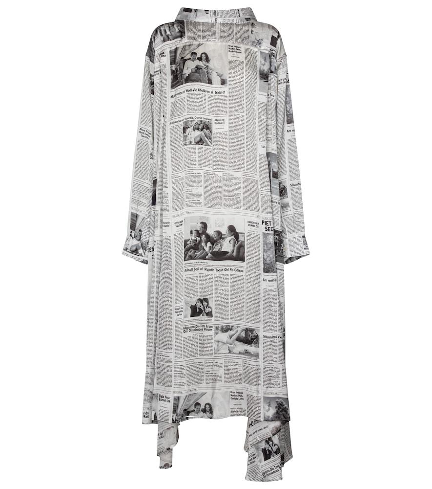 Printed maxi dress by Balenciaga