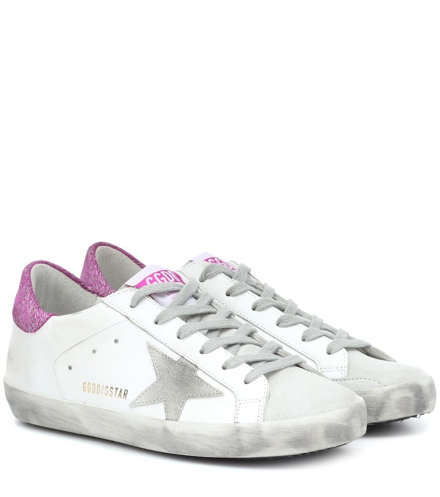SUPERSTAR LEATHER SNEAKERS