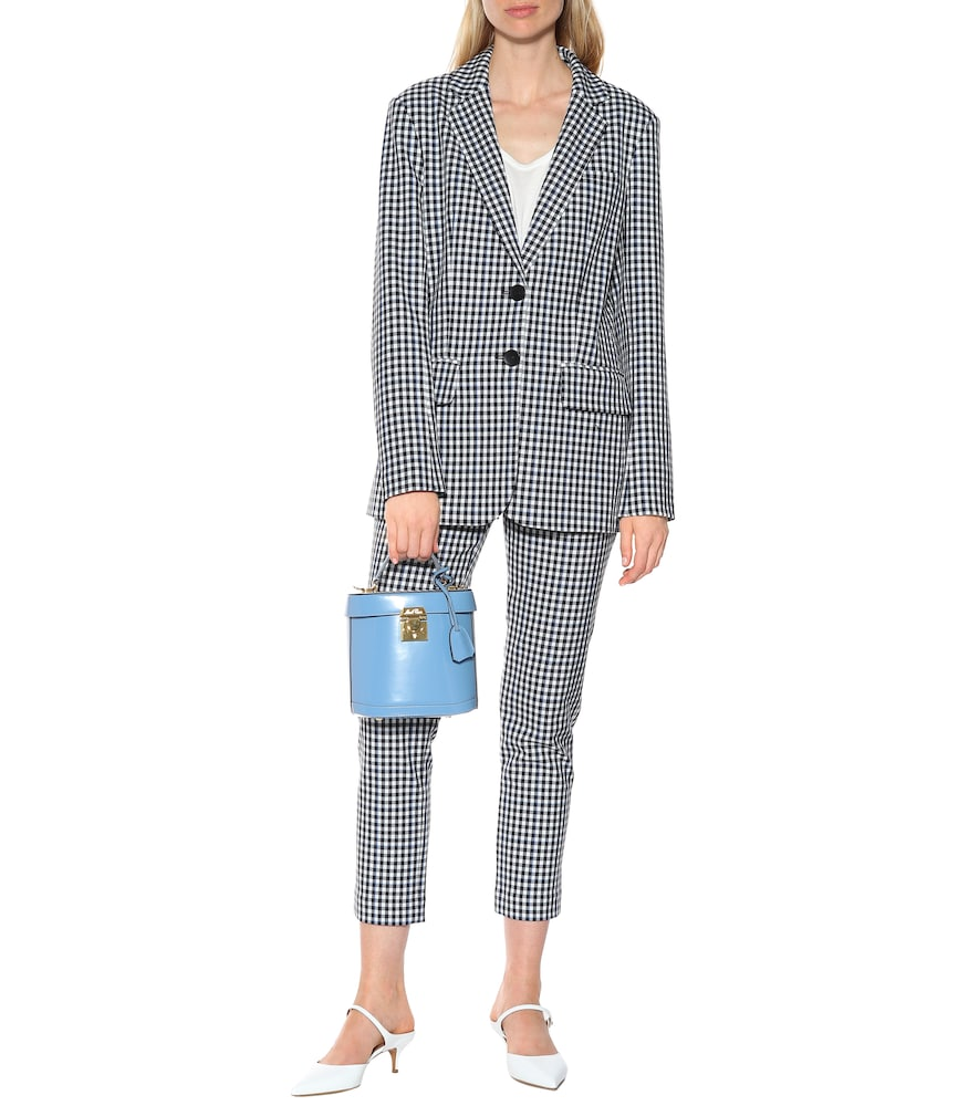 Gingham blazer by Tibi