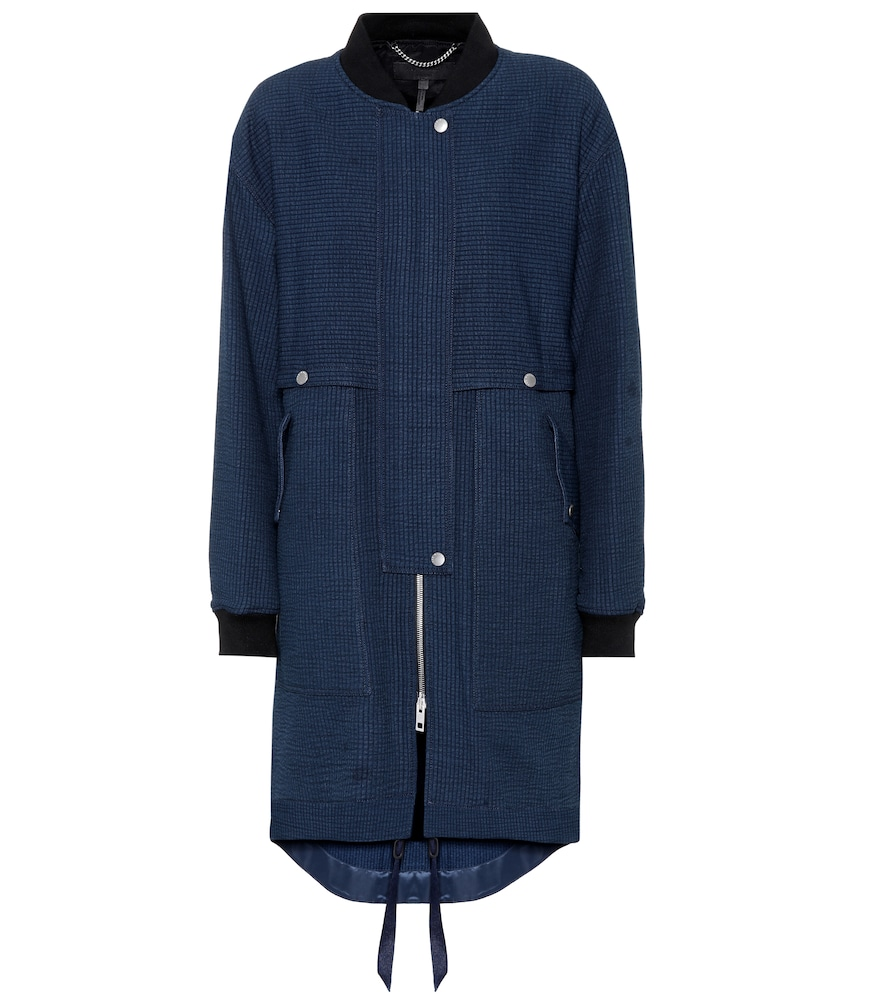 Manteau en coton mélangé