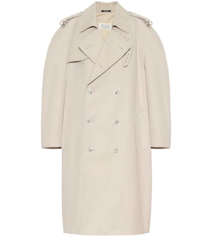 Cotton-blend coat by Maison Margiela