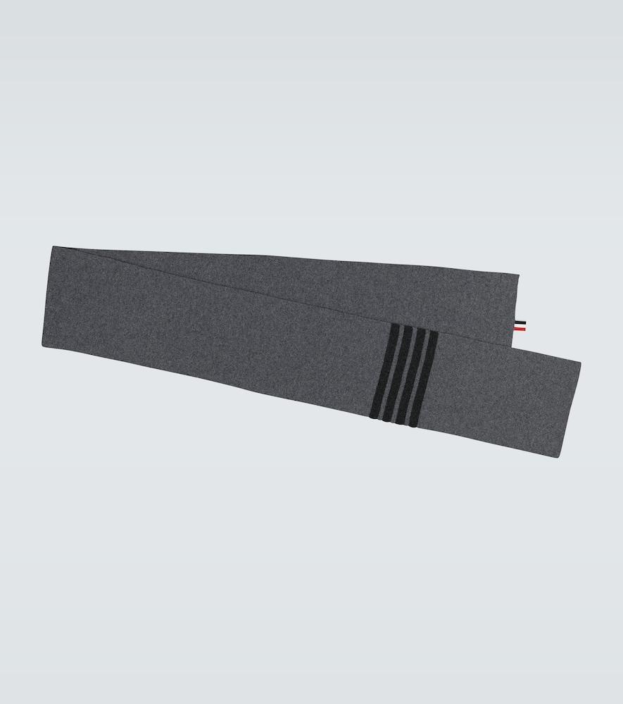 Écharpe côtelée en laine - Thom Browne - Modalova