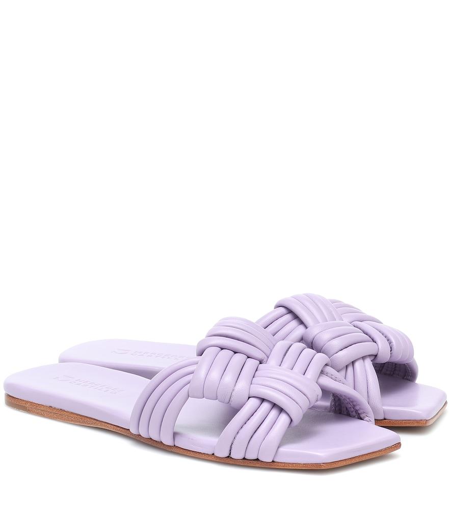 Tatiana woven leather sandals