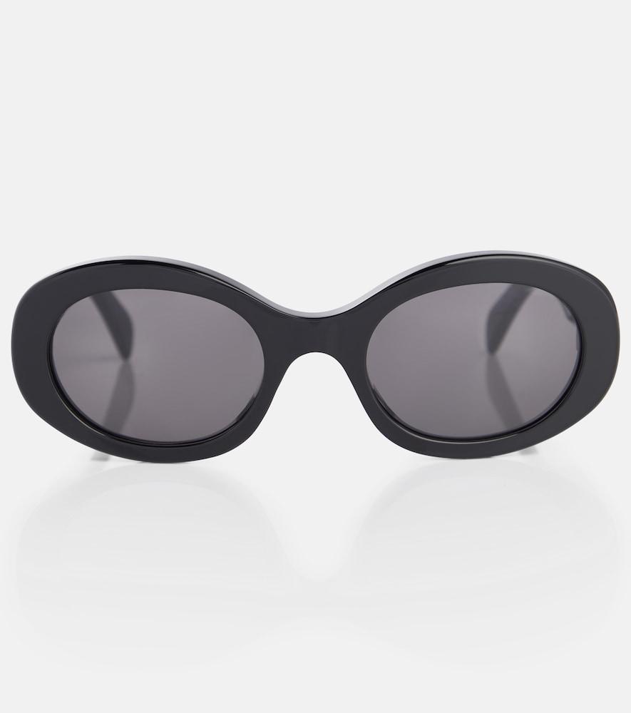 Oval sunglasses