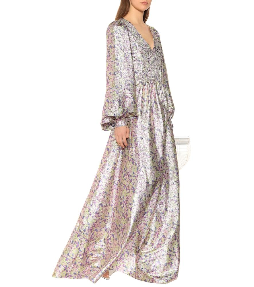 Floral silk-blend dress by Stella McCartney