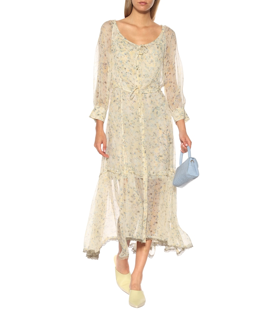 Fragile Flowering floral maxi dress by Dorothee Schumacher