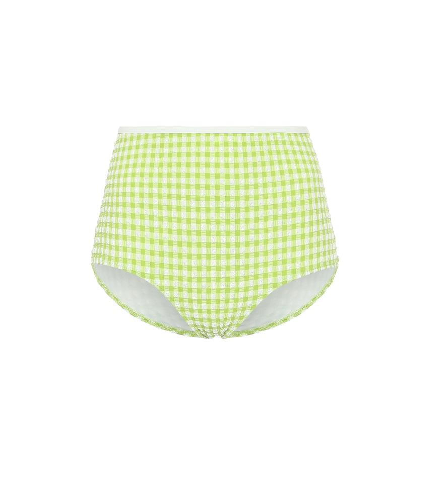 Exclusivité Mytheresa – Culotte de bikini Brigitte à carreaux