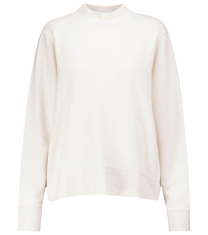 Cotton terry sweatshirt