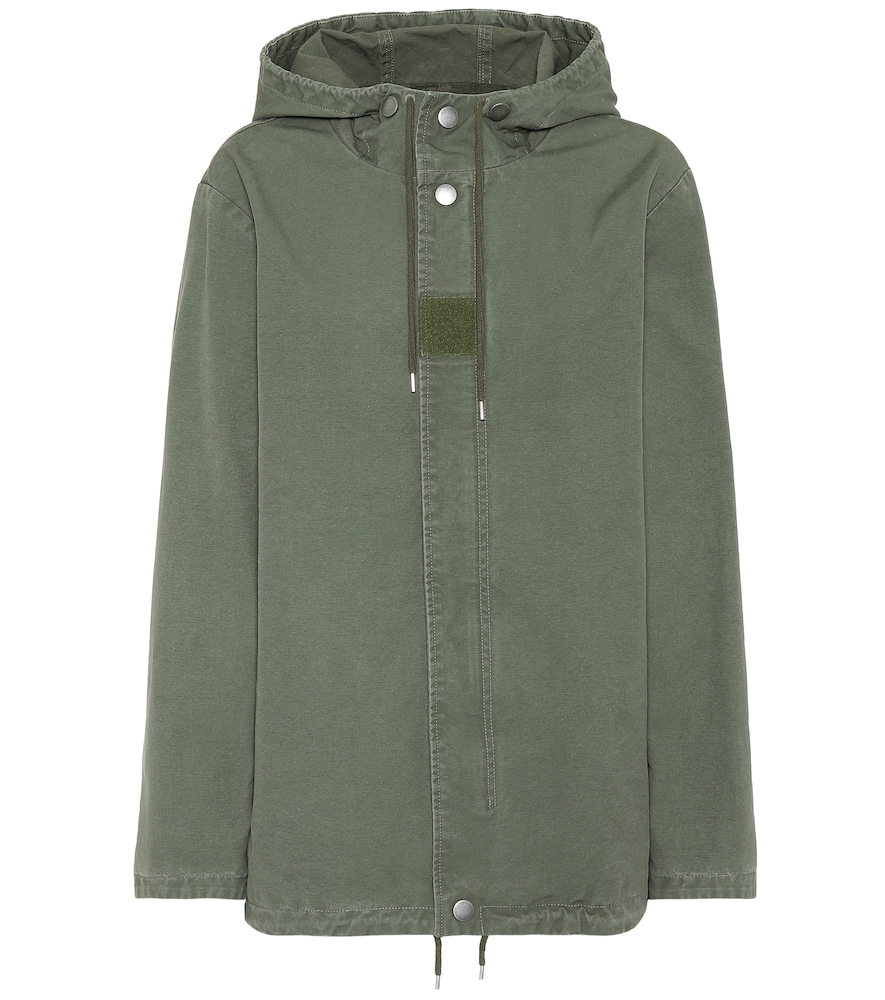PAINTBALL COTTON PARKA