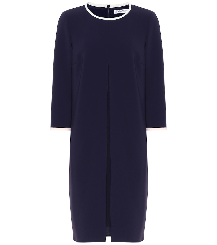 MAX MARA | Azulene Crêpe Dress | Goxip