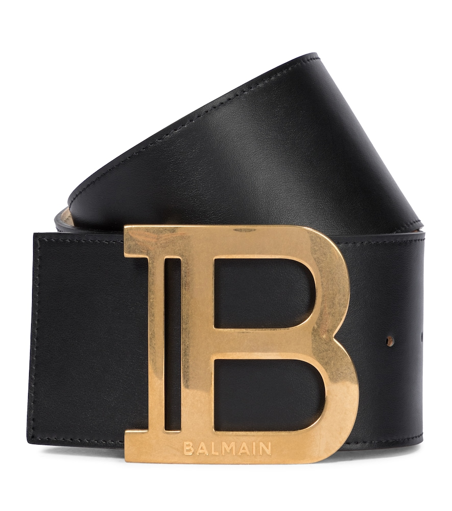 Balmain B-BELT LEATHER BELT
