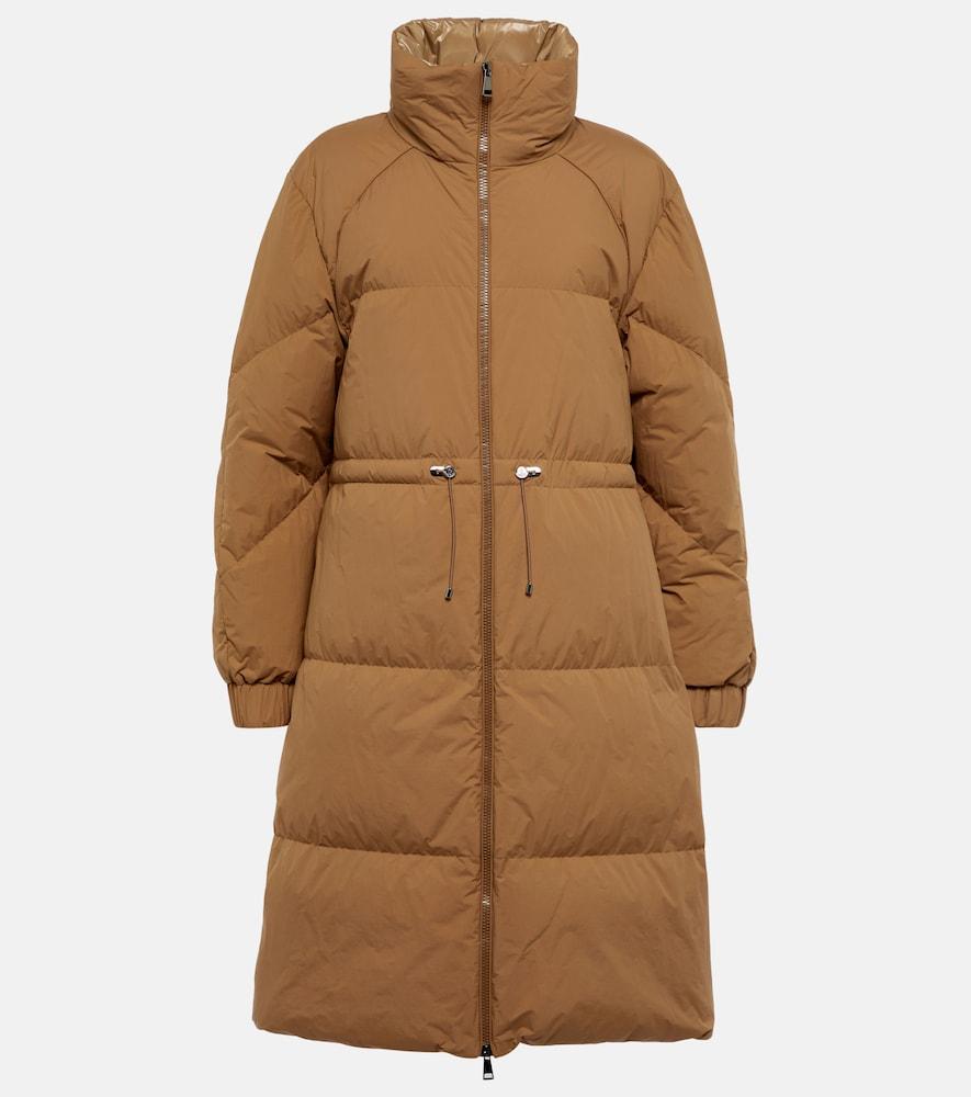 Citronnier high-neck down coat