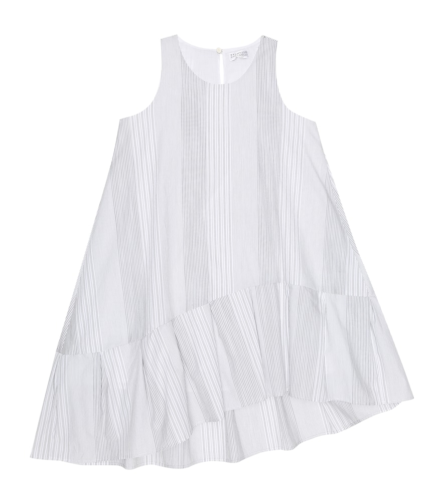 Brunello Cucinelli EXCLUSIVE TO MYTHERESA - STRIPED COTTON DRESS