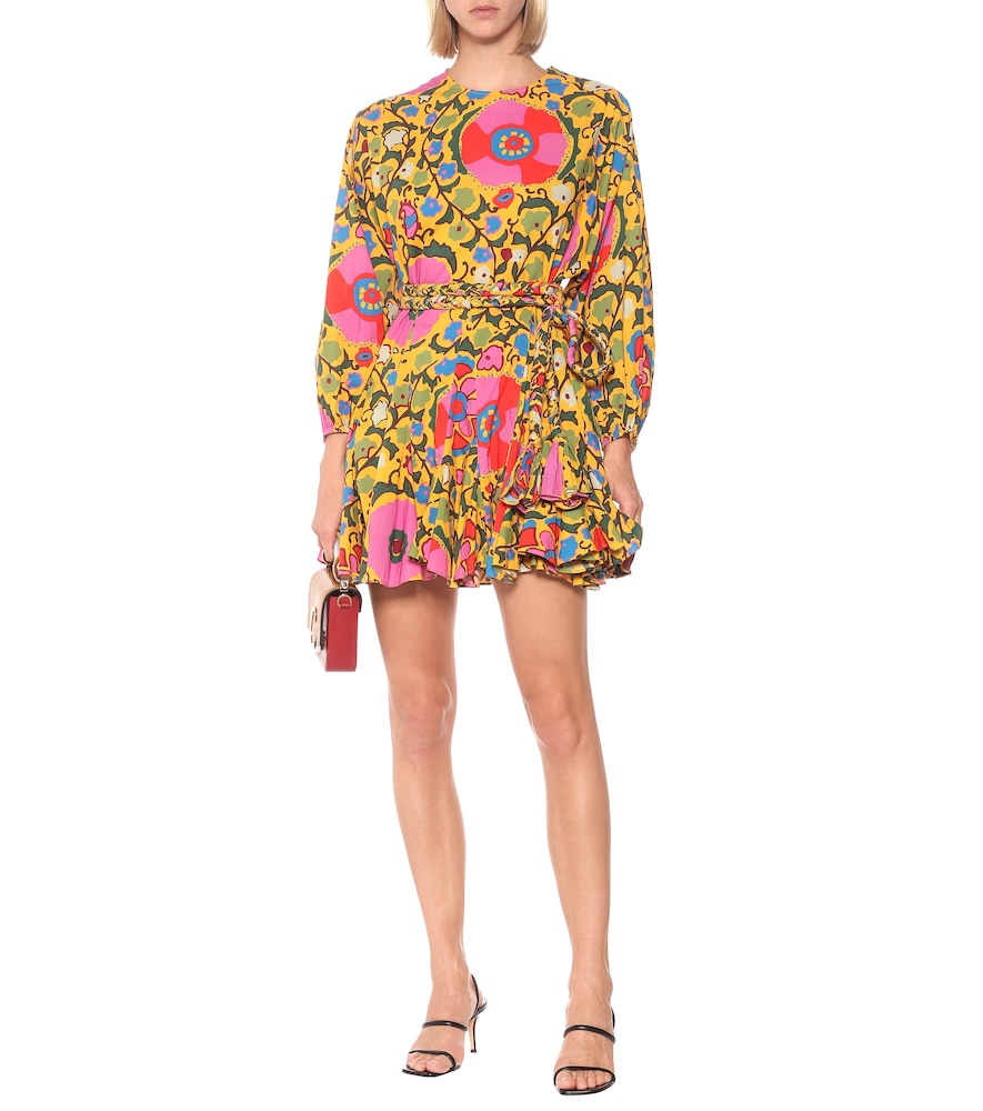 Exclusive to Mytheresa - Ella floral cotton minidress by RHODE