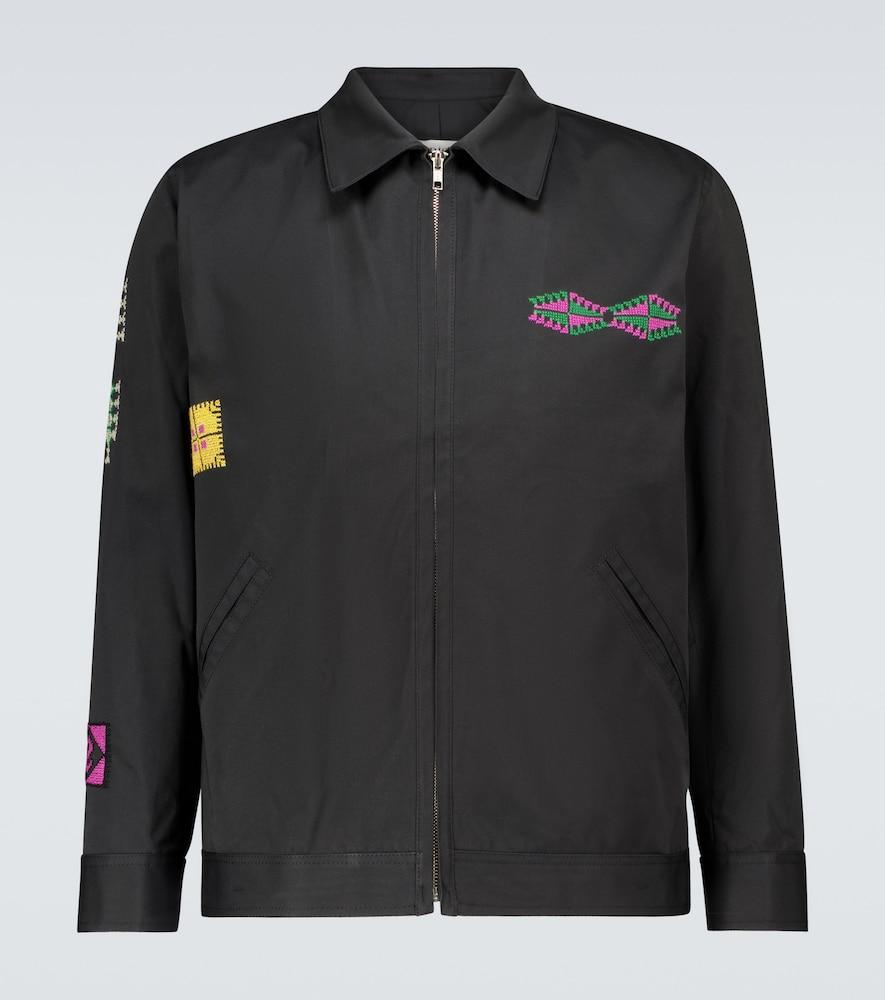 Makhlut cotton zipped jacket