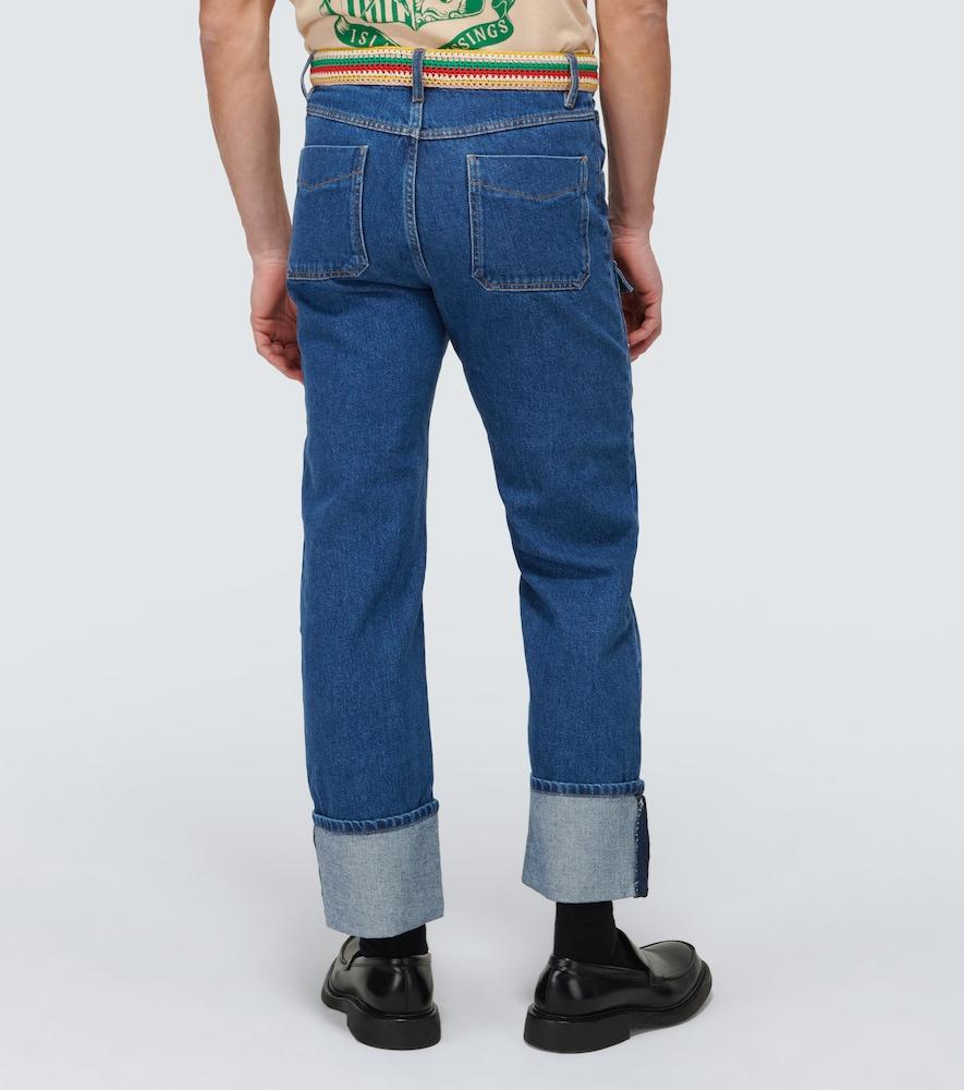 WALES BONNER Jeans BRIXTON PATCH POCKET JEANS