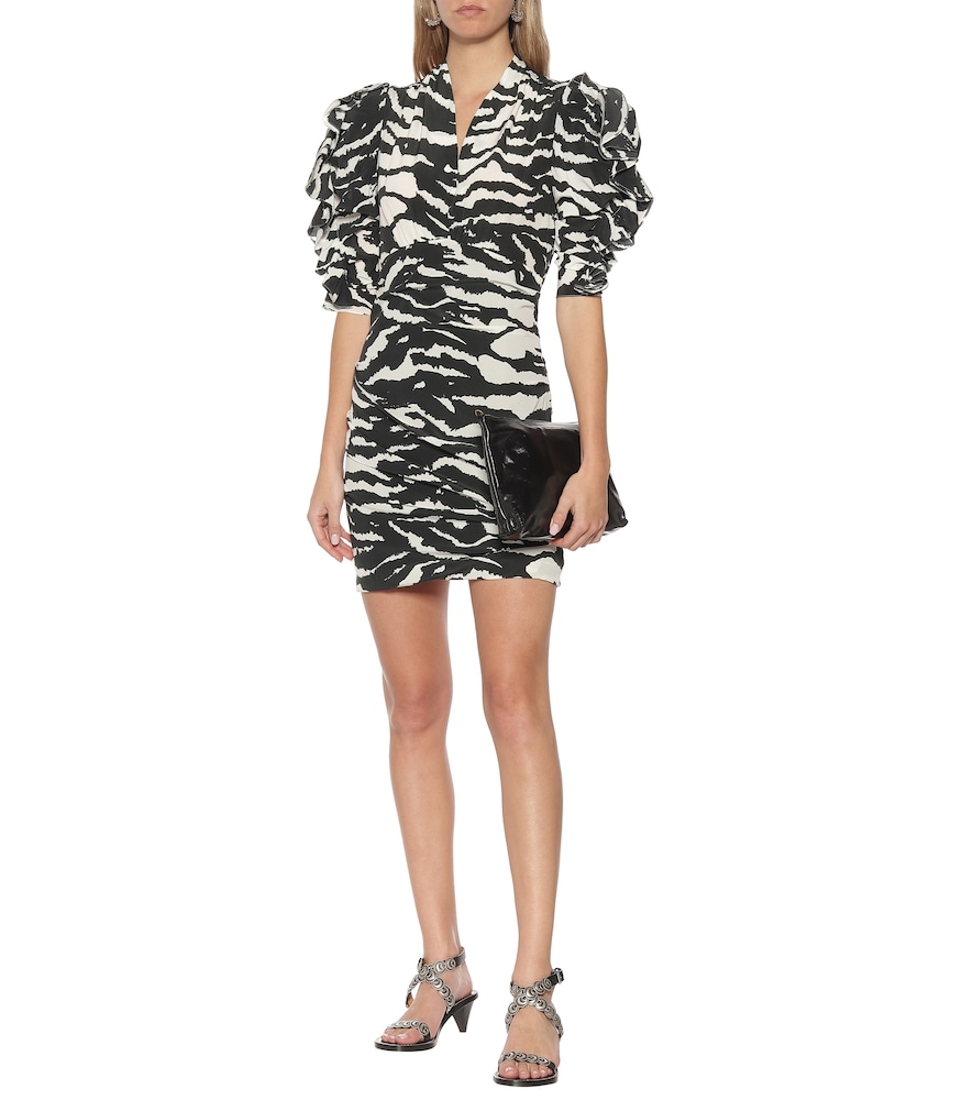 Farah animal-print minidress by Isabel Marant