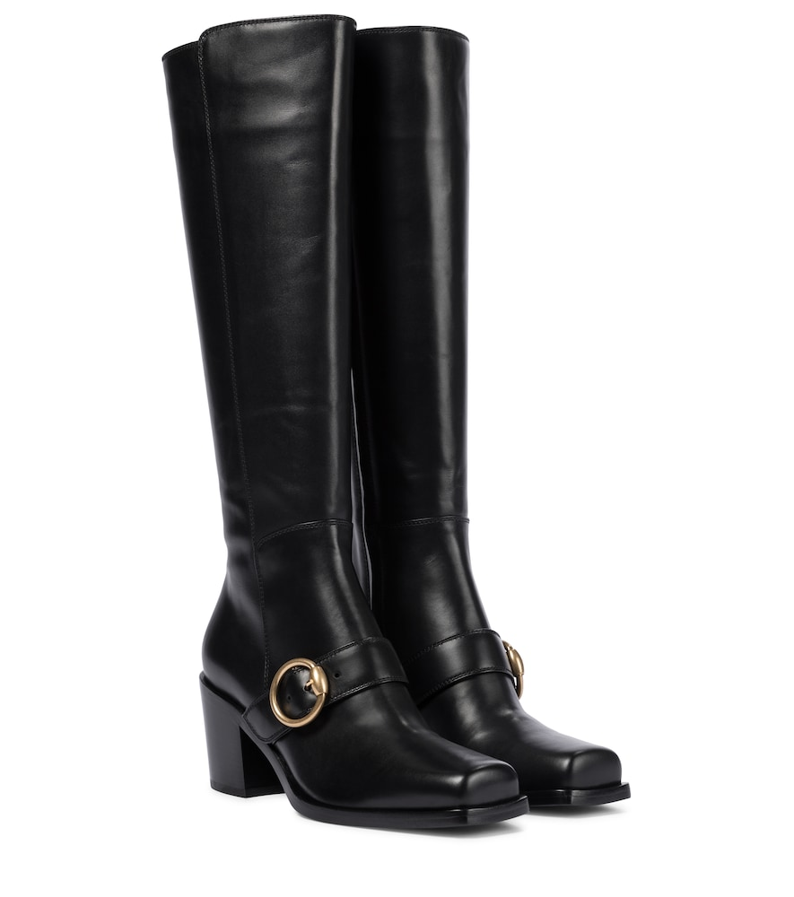 Gianvito Rossi WAYNE 60 KNEE-HIGH LEATHER BOOTS