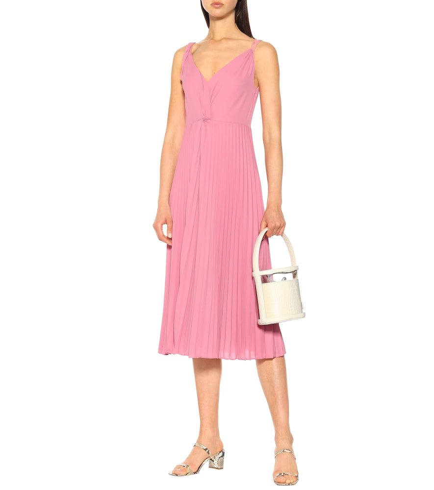 Pleated midi dress by Vince