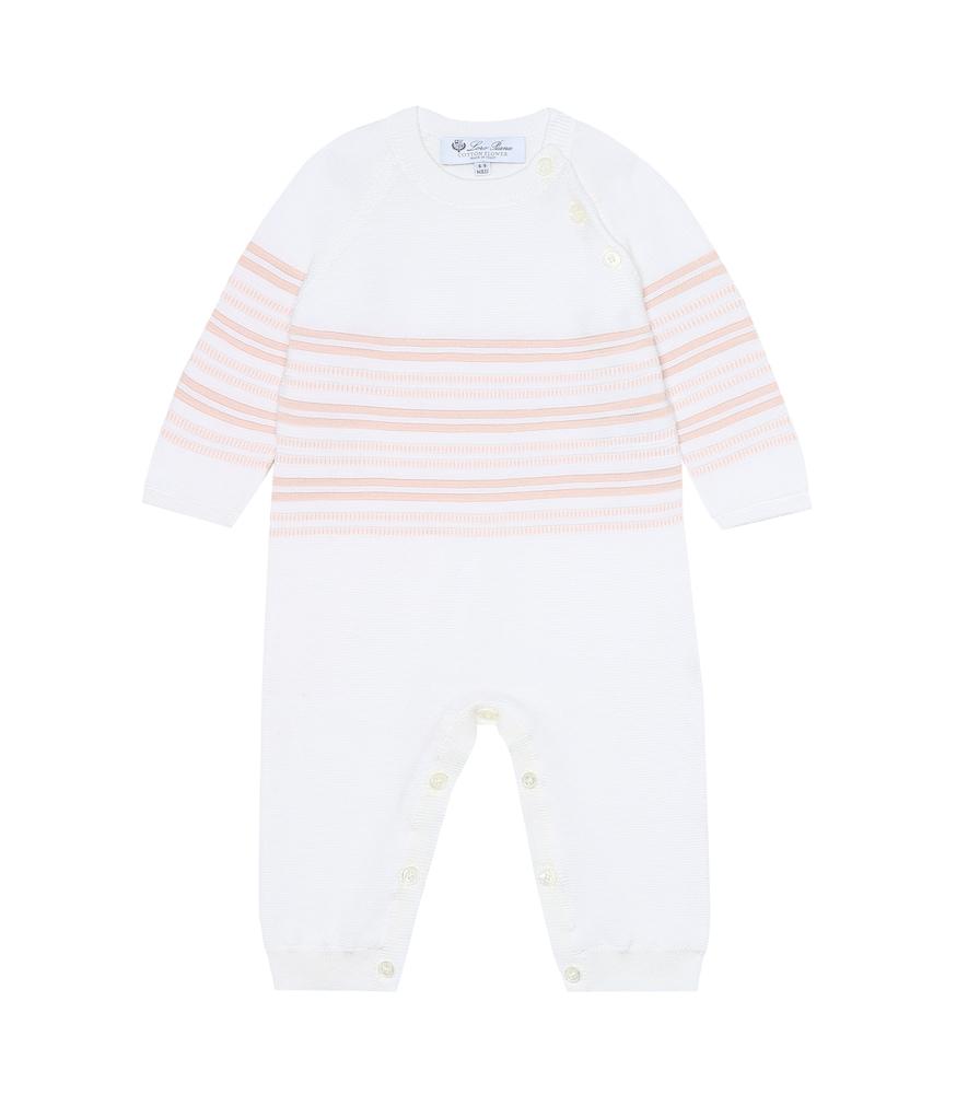 Baby Tiny striped cotton onesie