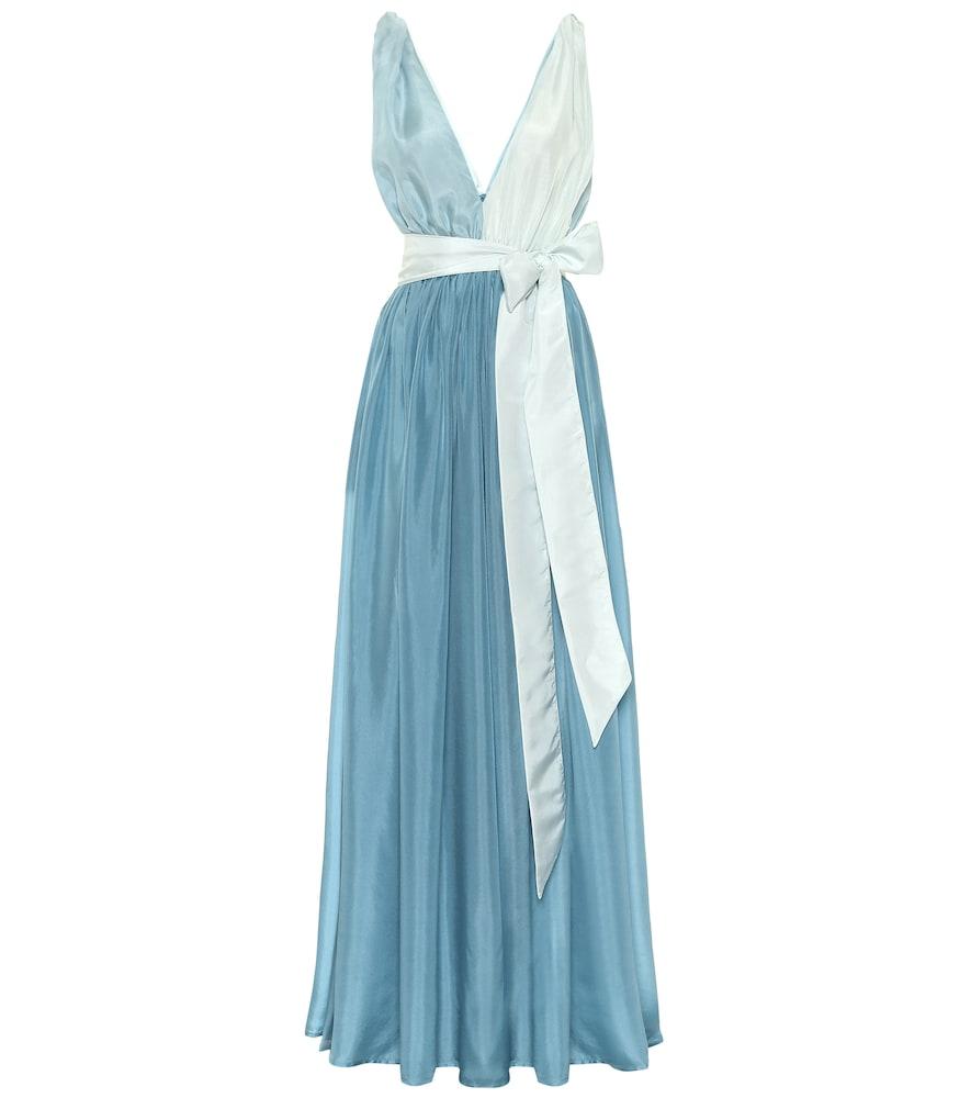 Robe longue Adonis en soie