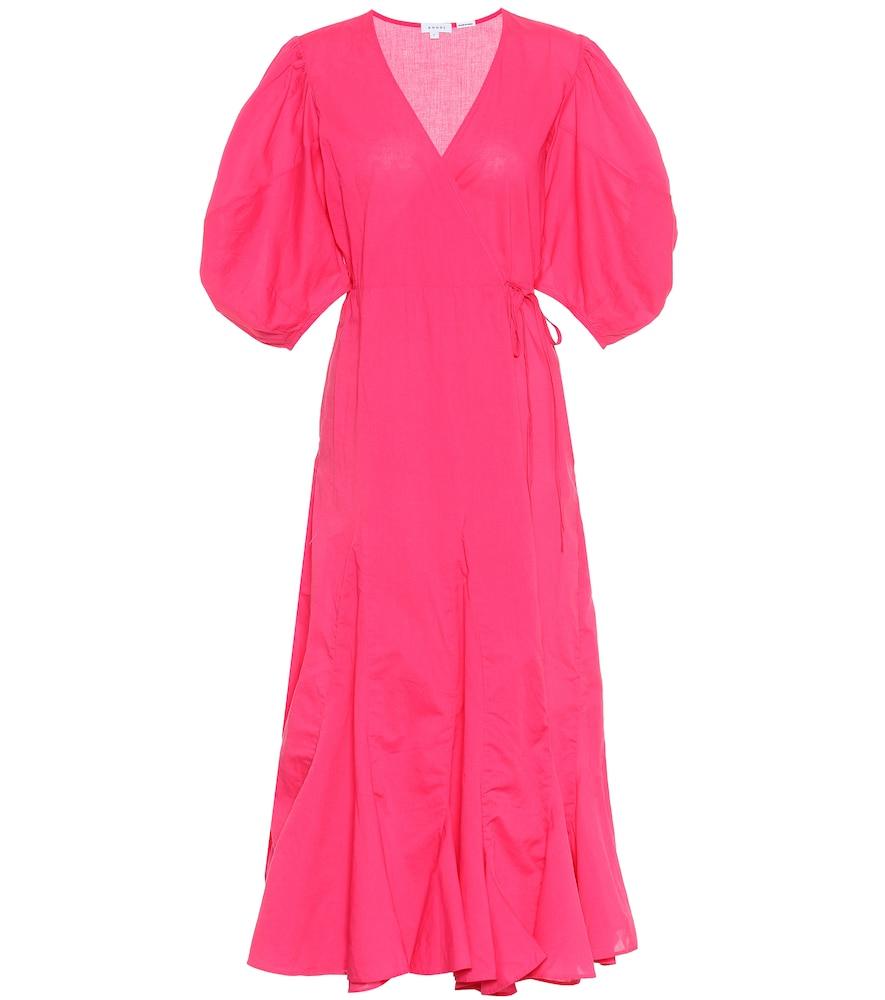 Robe portefeuille Fiona en coton