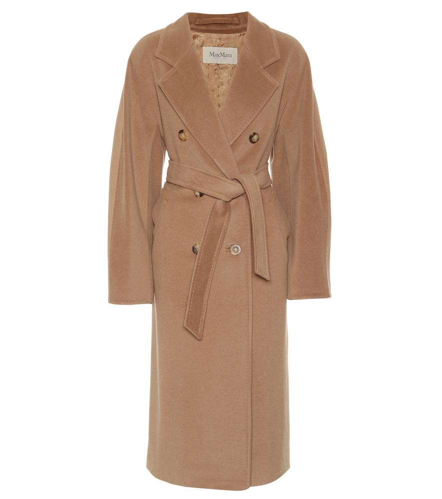 Manteau Madame en laine et cachemire
