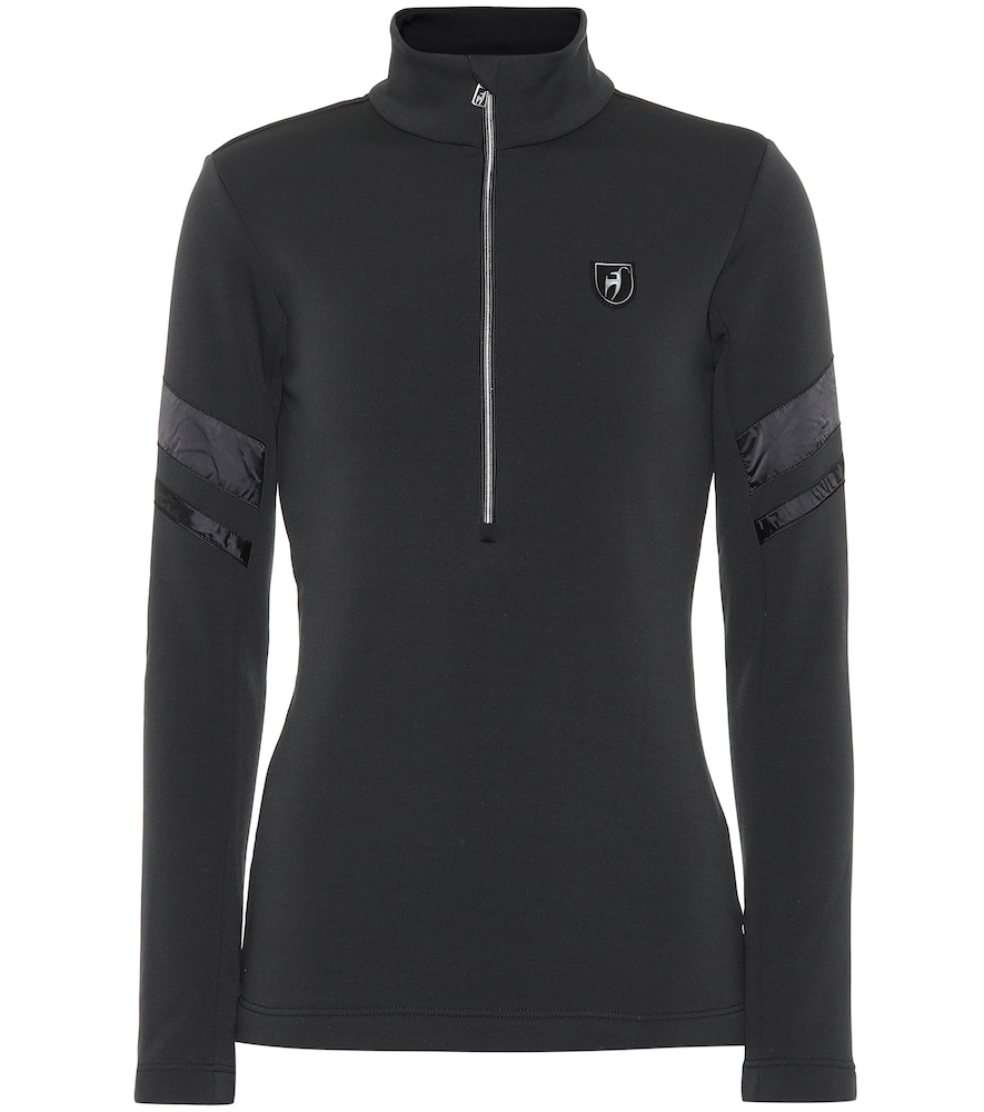 TONI SAILER Natalia Technical Ski Top in Black