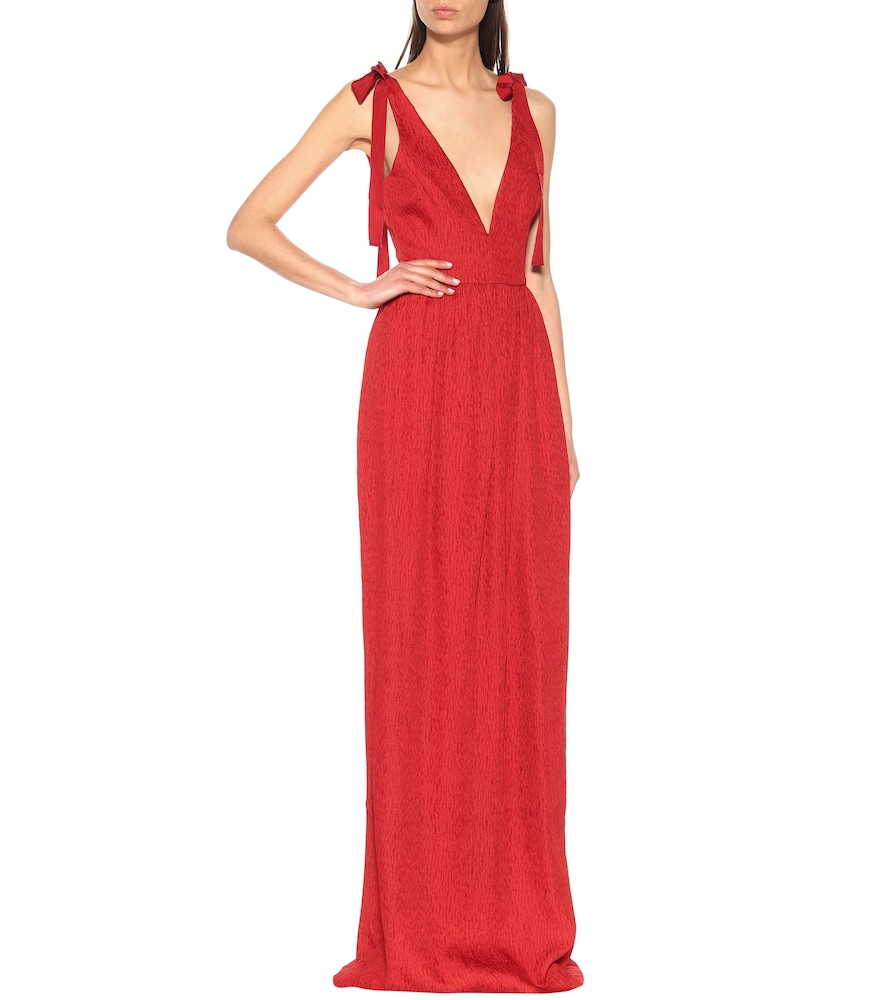 Harlow Bow maxi dress by Rebecca Vallance