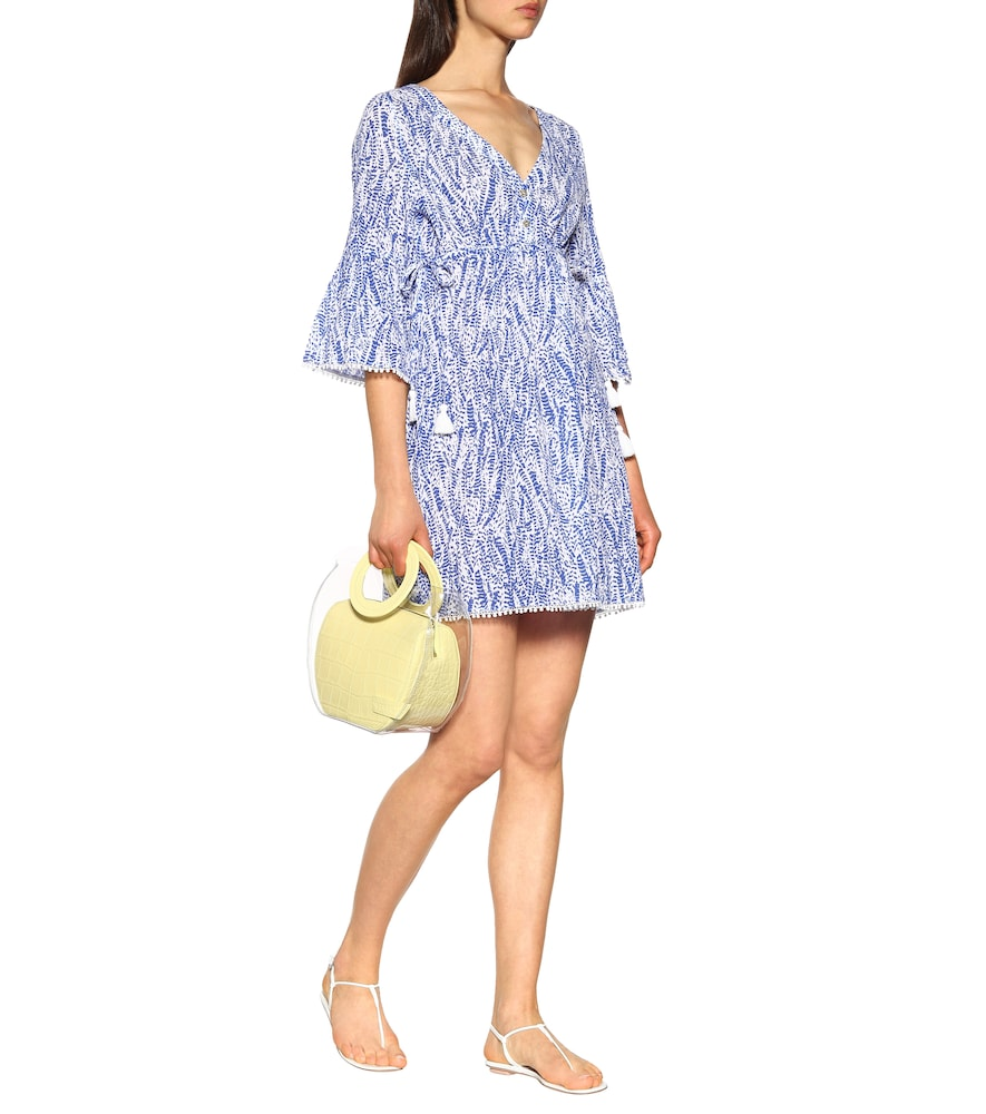 Amoudi Bay Tie Side cotton cover-up by Heidi Klein