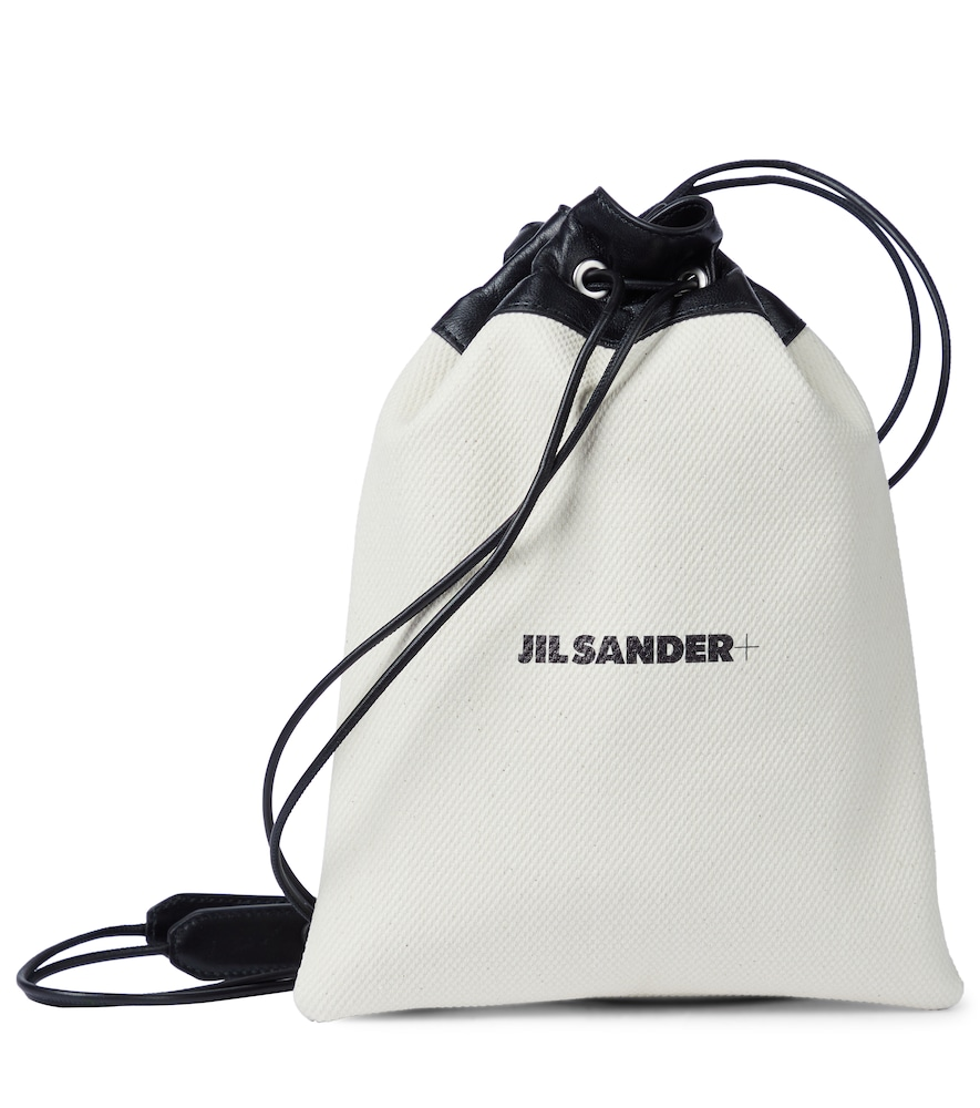 Drawstring canvas pouch