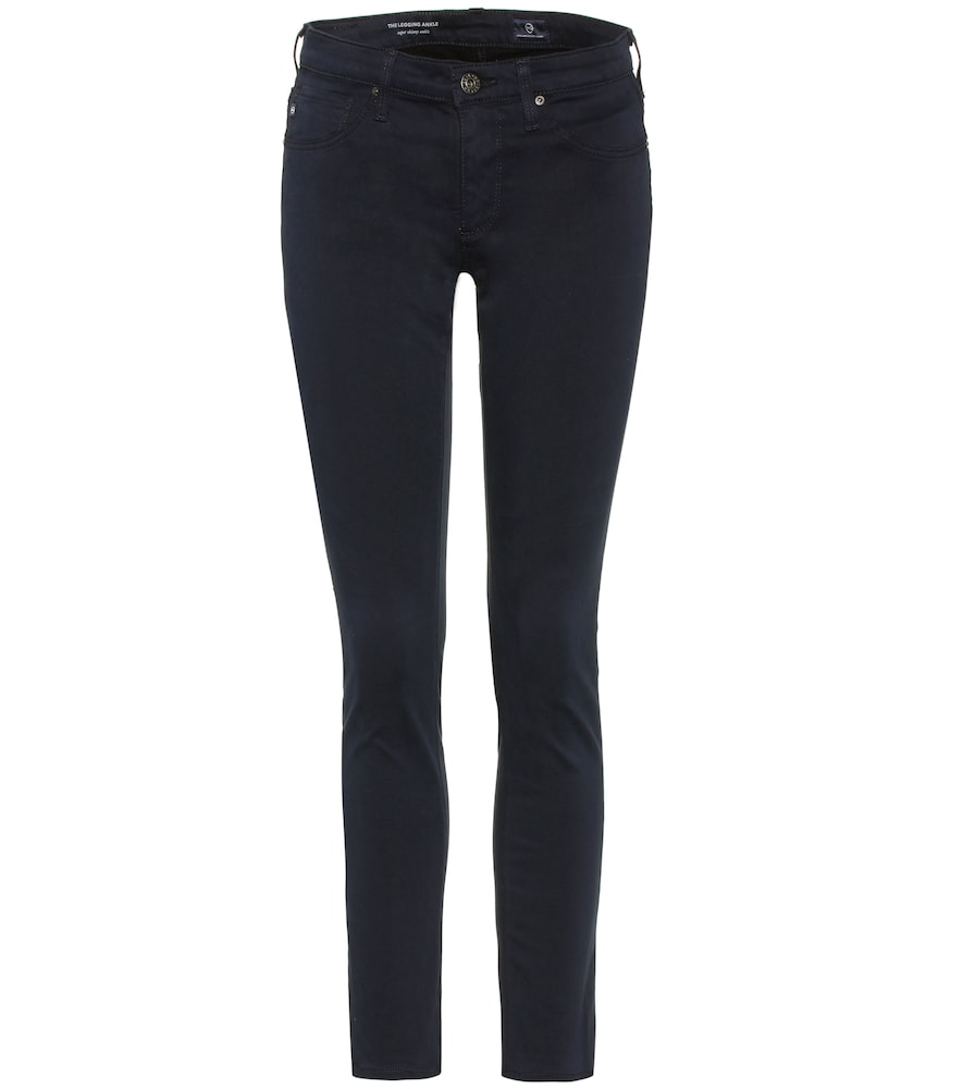 The Legging Ankle cotton-blend skinny jeans