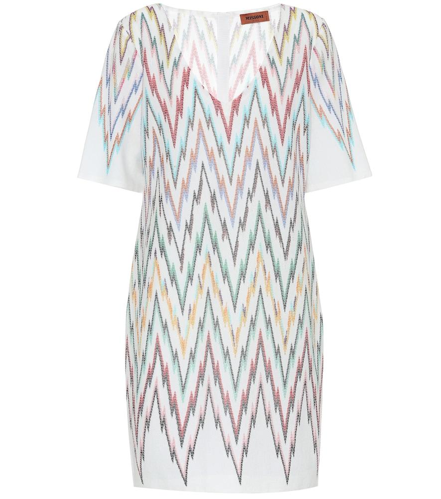 Stretch-silk dress by Missoni