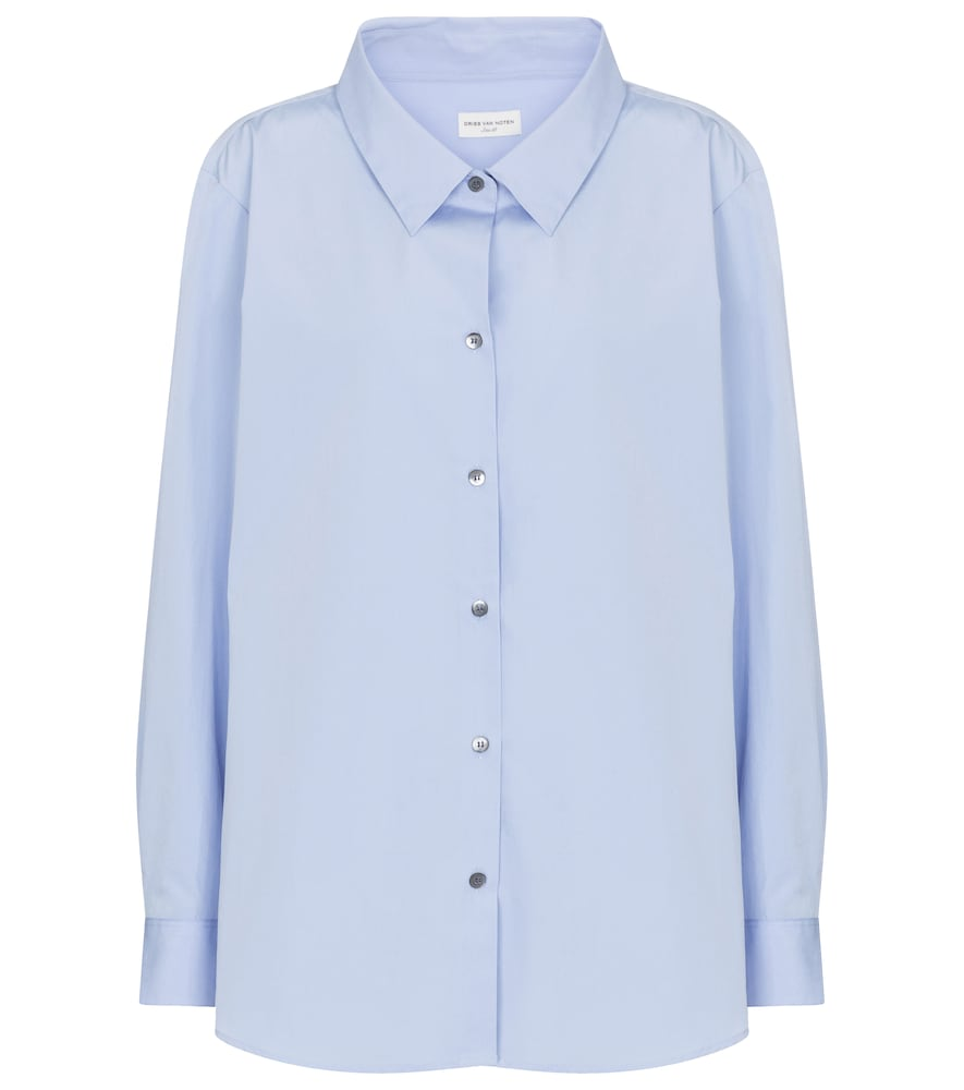 Dries Van Noten COTTON POPLIN SHIRT