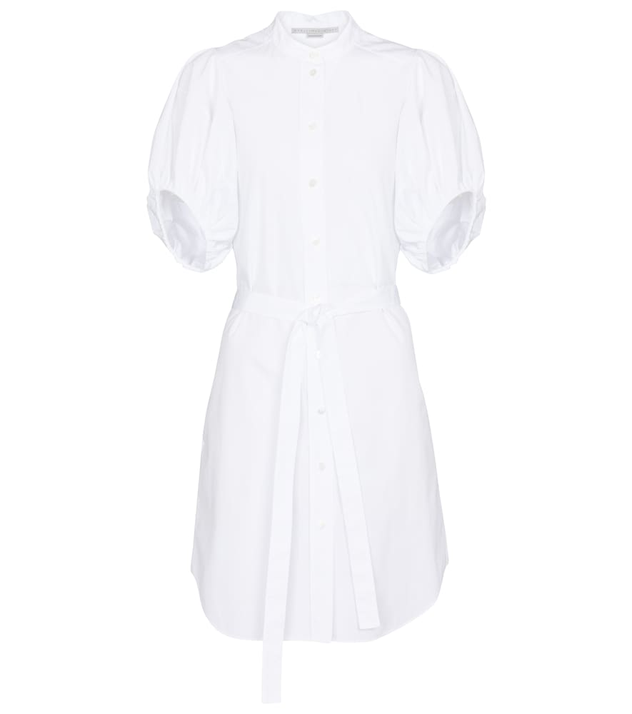 Stella Mccartney ANASTASIA COTTON SHIRT MINIDRESS