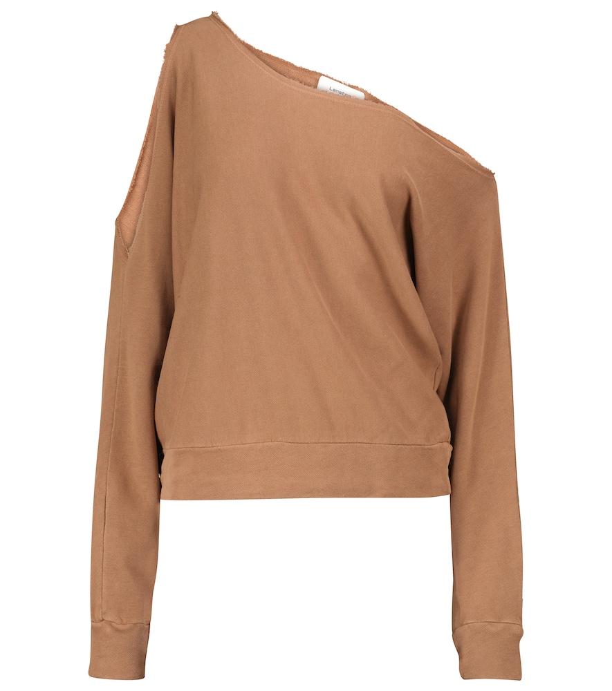 Porter one-shoulder sweatshirt