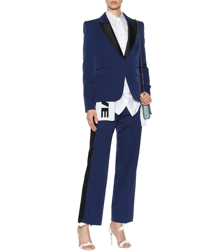 Photo of Wool tuxedo blazer by Stella McCartney - shop Stella McCartney Jackets, Blazers online