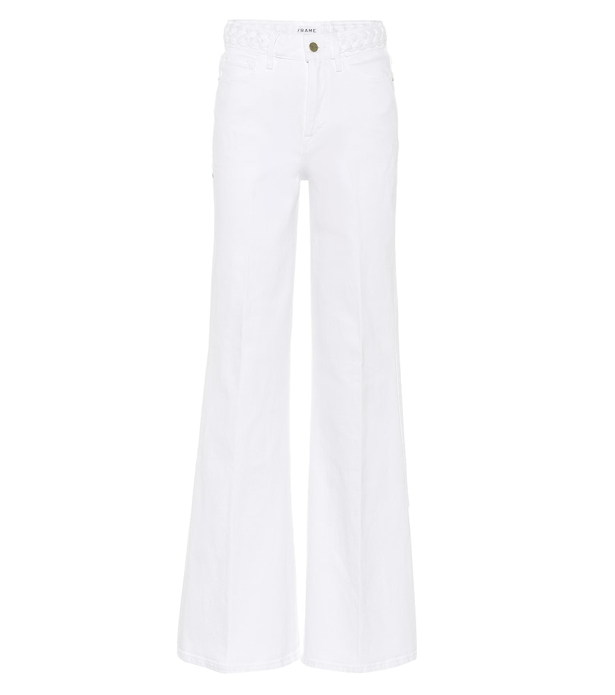 Frame Jeans LE PALAZZO HIGH-RISE WIDE-LEG JEANS