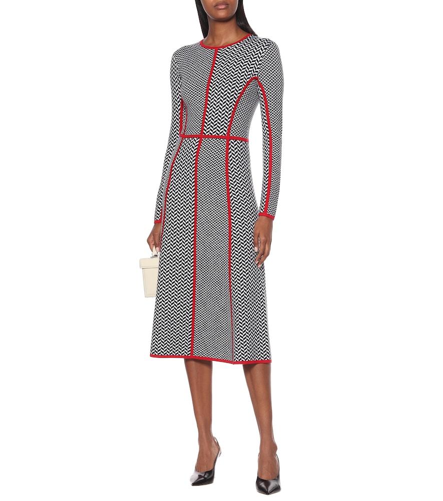 Exclusive to Mytheresa - Joslyn wool-blend midi dress by Gabriela Hearst