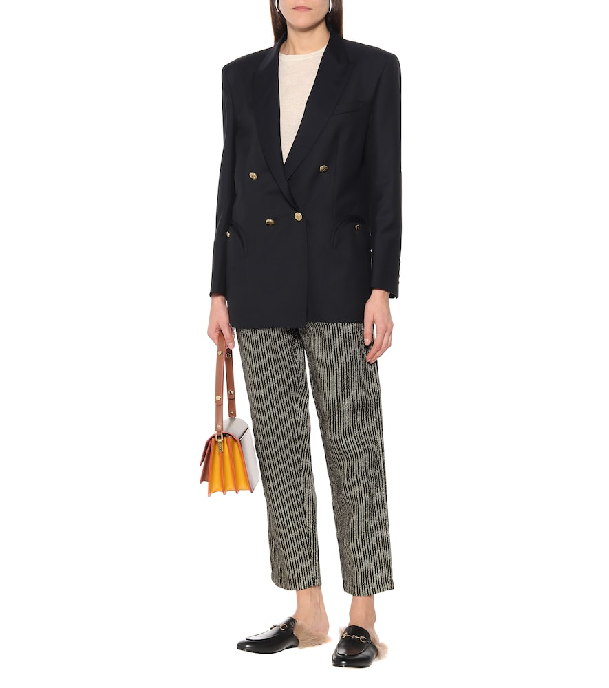 Tomboy wool-blend blazer by Blazé Milano