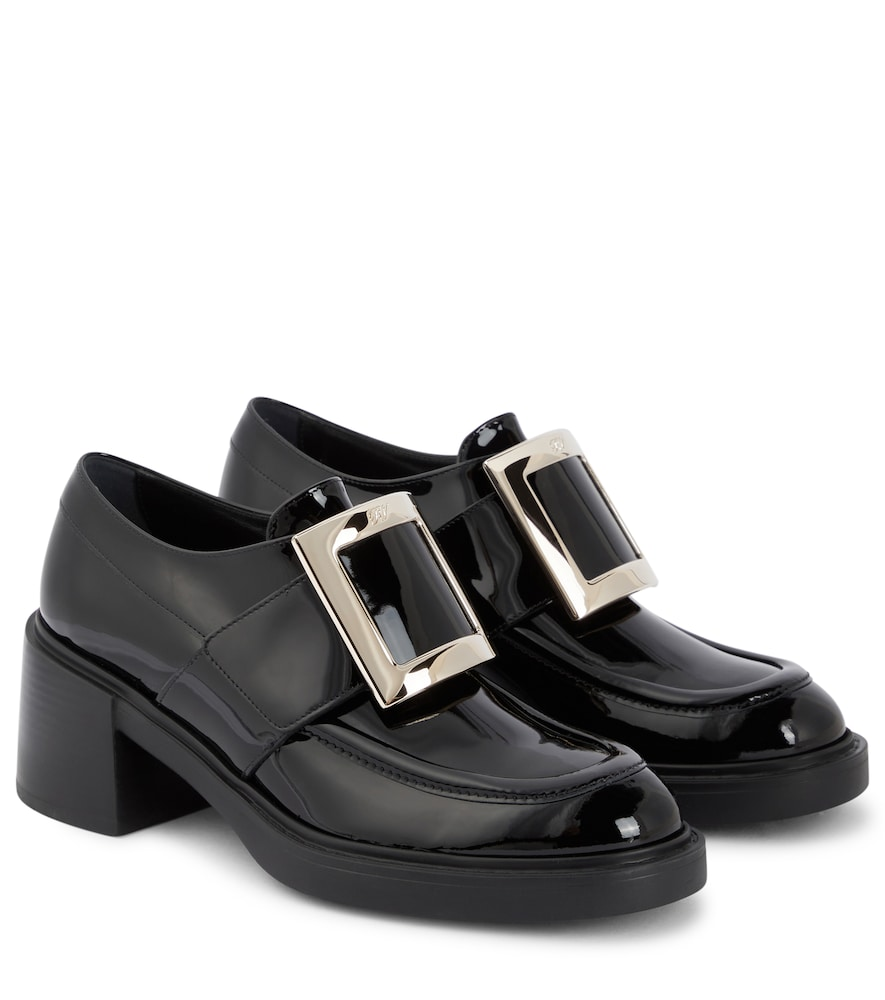 Viv' Rangers patent leather loafers