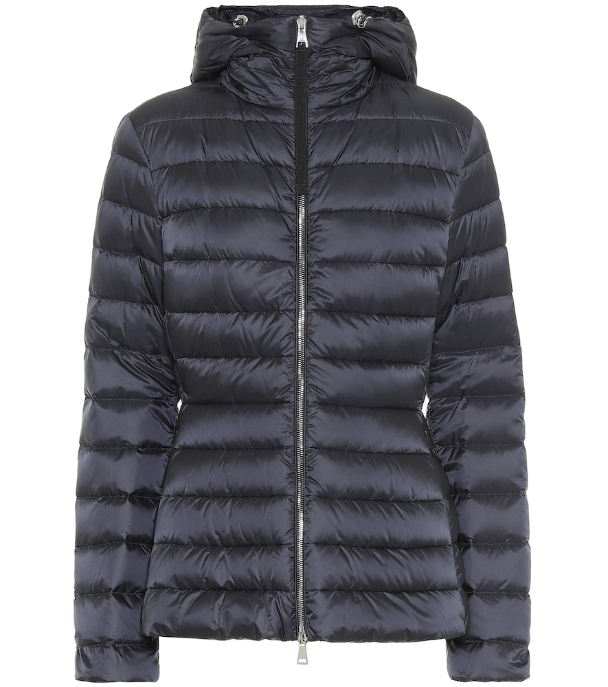 Amethyste quilted down jacket